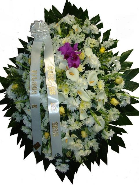 Coroa Condolências Luxo